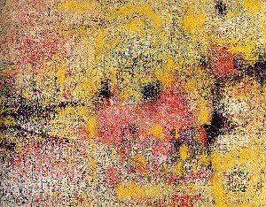 Paris, 1968 by Princess Fahrelnissa Zeid. Abstract Art. abstract