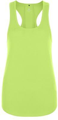 Womens lime mesh back sports vest from New Look - £8.99 at ClothingByColour.com