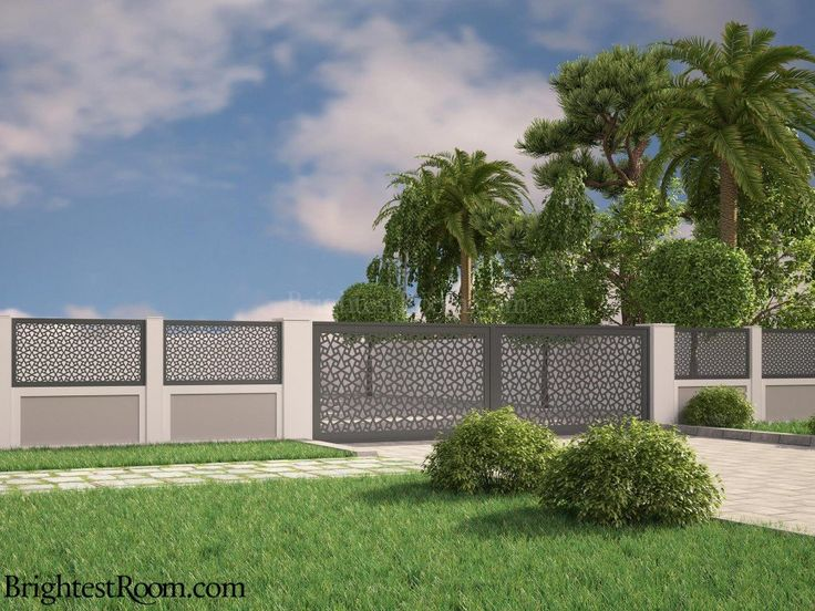 Star Zoom - Mild Steel Laser Cut Gate and Fence - Gate+Fence