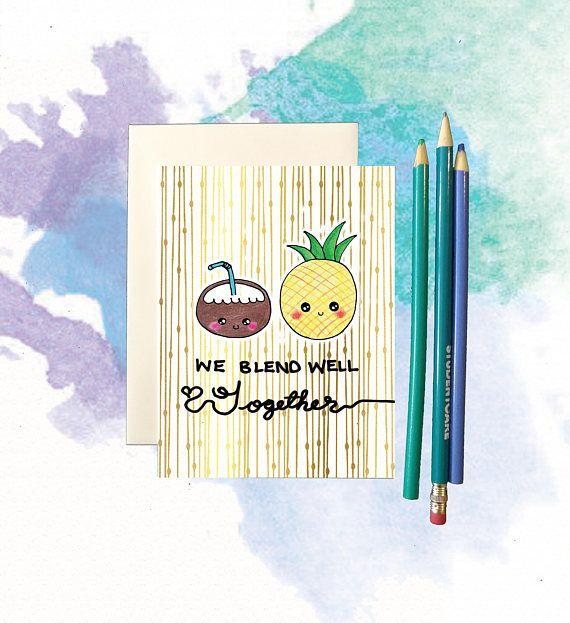 Funny valentine card, funny valentines card, funny valentines day card, funny best friend valentine card, best friend card, food pun card