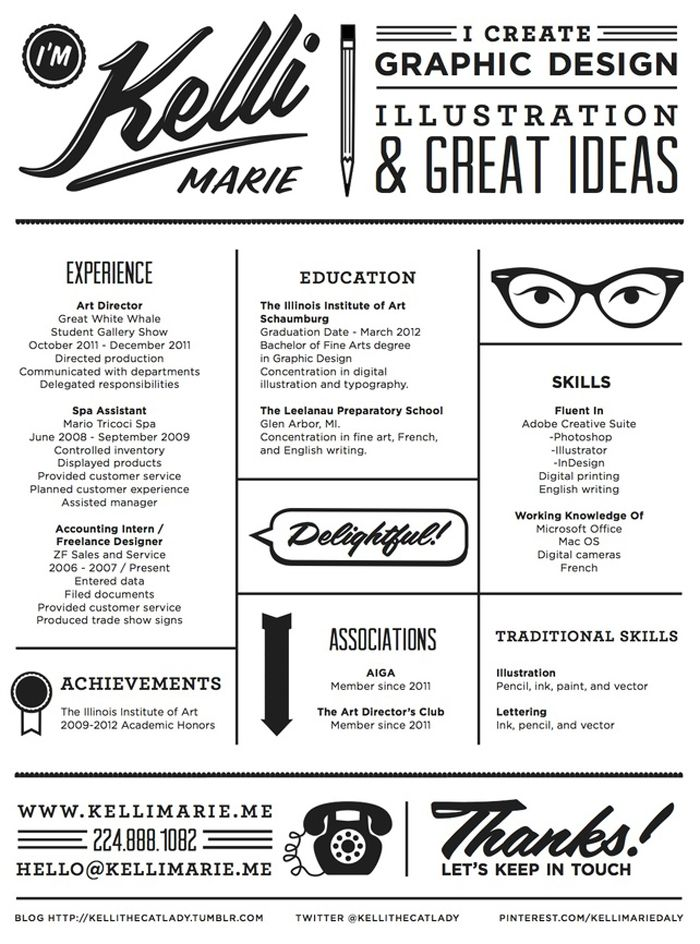 25 best ideas about cool resumes on cv ideas