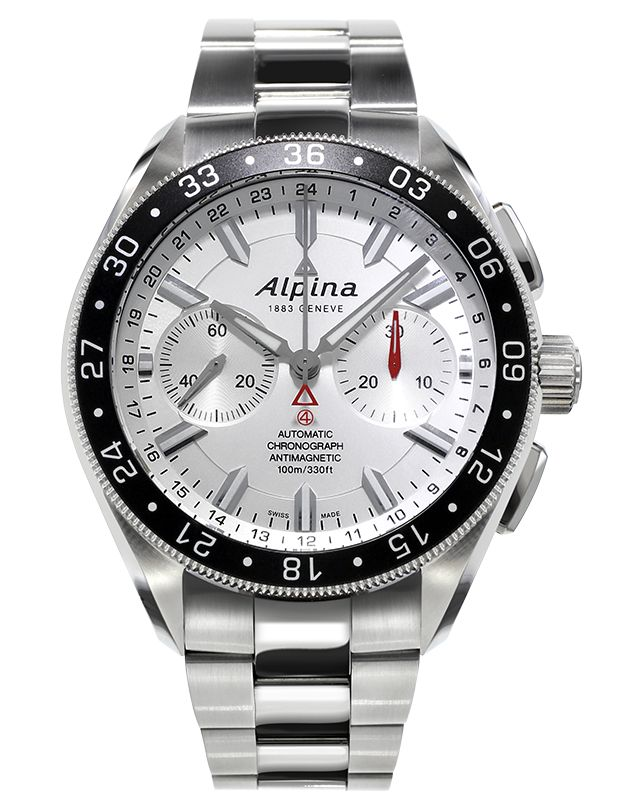 Discover the Alpina Alpiner 4 Chronograph (ref. AL-860S5AQ6B) today.