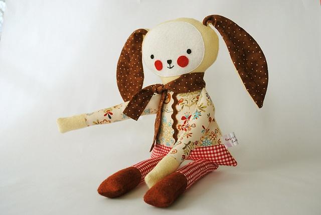 Two  by Rabbit! Rabbit! Softies, via Flickr