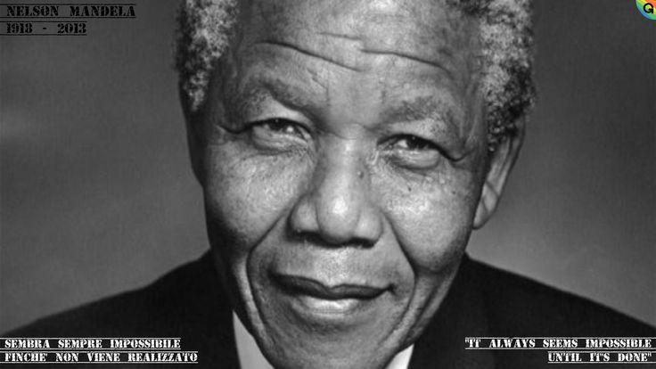 #5dic13 > Muore #NelsonMandela (Mvezo, 18 lug 1918 – Johannesburg, 5 dic 2013) > Politico sudafricano > 1° presidente a essere eletto dopo la fine dell'apartheid > 1993_ insieme al predecessore Frederik Willem de Klerk riceve il Premio Nobel per la pace >>> Fondamentale il suo apporto alla lotta contro le discriminazioni sessuali > si batterà per i diritti Lgbt > Grazie a lui il Sudafrica è l'unico Paese africano ad ammettere il matrimonio tra persone dello stesso sesso