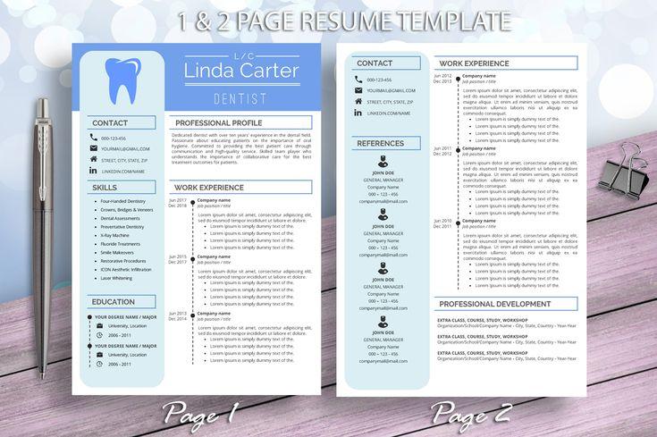 Dental Assistant Resume Template For Word Dentist Dental Hygienist Medical Resume Cv Design Medical Resume Dentist Resume Resume Template Word