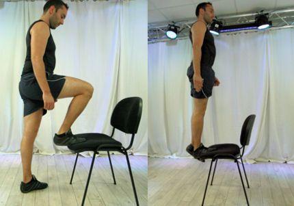 20 exercices pour se muscler le corps : Mollets : le step amélioré - Linternaute.com Sport