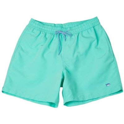 Southern Tide Mens Solid Color Swim Trunks
