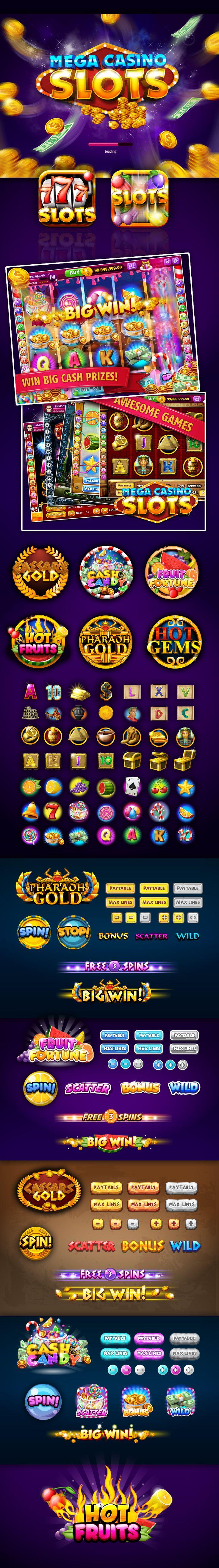 Mega Casino Slots - Game on Behance