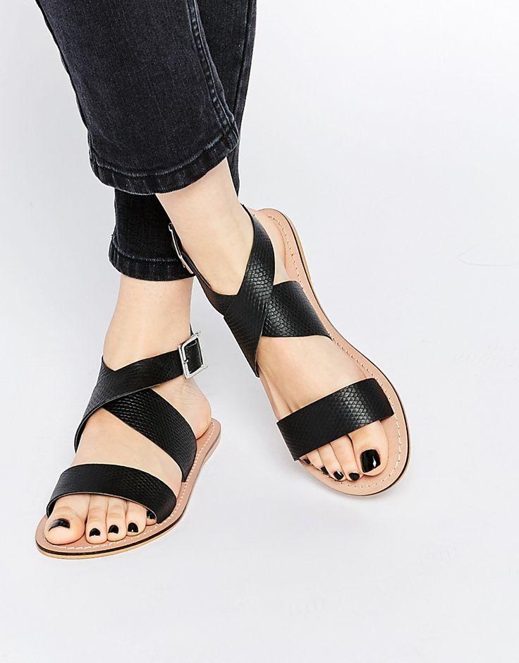 ASOS - FRAME - Sandales en cuir
