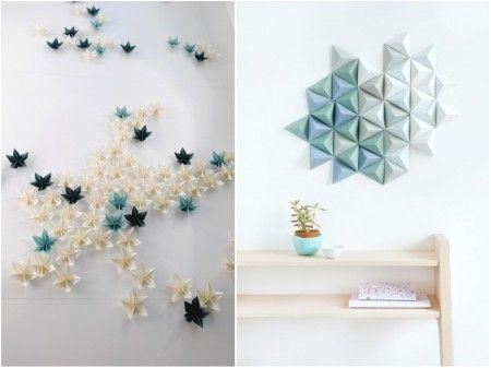 tendencias decoración 2015: paredes 3d