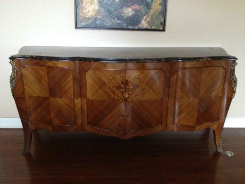 Comoda Francesa Estilo Luis Xv  $7,397.96 USD Mexico Muebles Antiguos