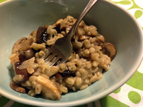 Barley Risotto With Mushrooms, Manchego And Thyme - NPR's Kitchen ...