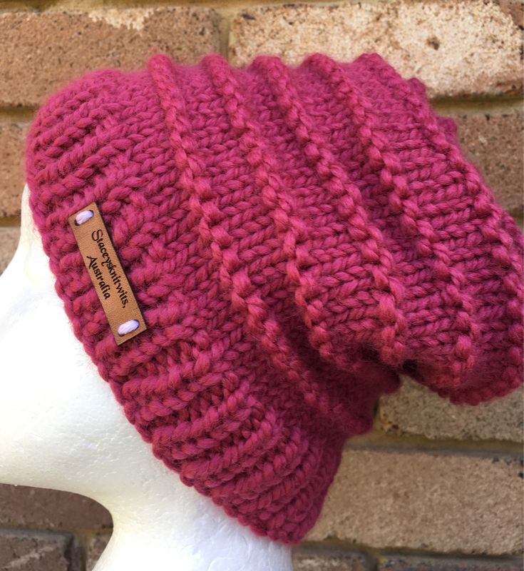 A personal favourite from my Etsy shop https://www.etsy.com/au/listing/600342283/knitted-pink-beanie-ladies-pink-beanie