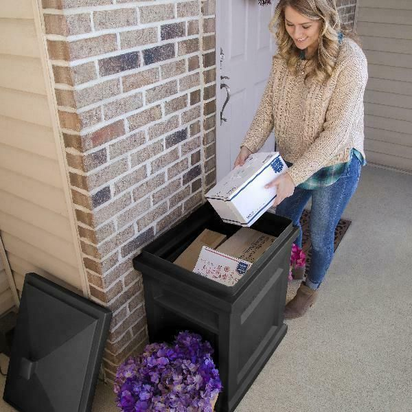 Package Delivery Box Drop Off Safe Mail Storage Bin Parcel ...