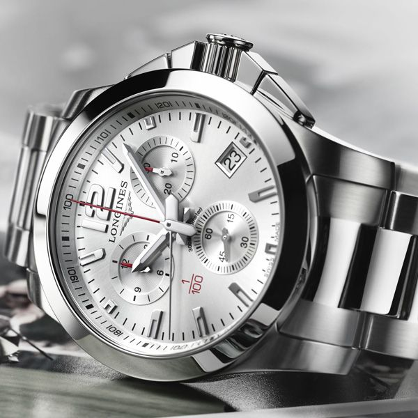 Longines Conquest 1/100th Horse Racing Longines unveils a new model to add to its Conquest collection, a name borne by many of the brand's successful pieces over the years: Conquest 1/100th Horse Racing - See more at En/Fr/Es: http://watchmobile7.com/articles/longines-conquest-1100th-horse-racing #watches #montres #relojes #longines @longineswatches