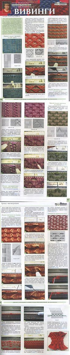 Машинное вязание... ВИВИНГИ