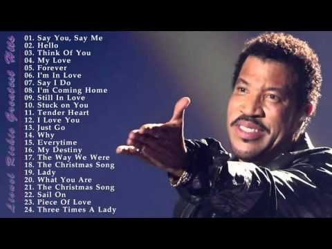 Lionel Richie's 30 Biggest Songs - Lionel Richie Greatest Hits - YouTube