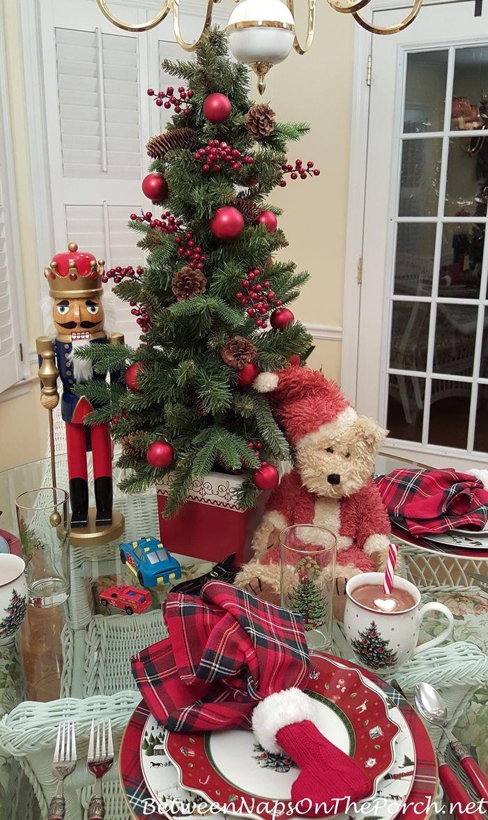 Plaid Christmas Tree 195 Best Christmas Decorating Ideas Images On Pinterest
