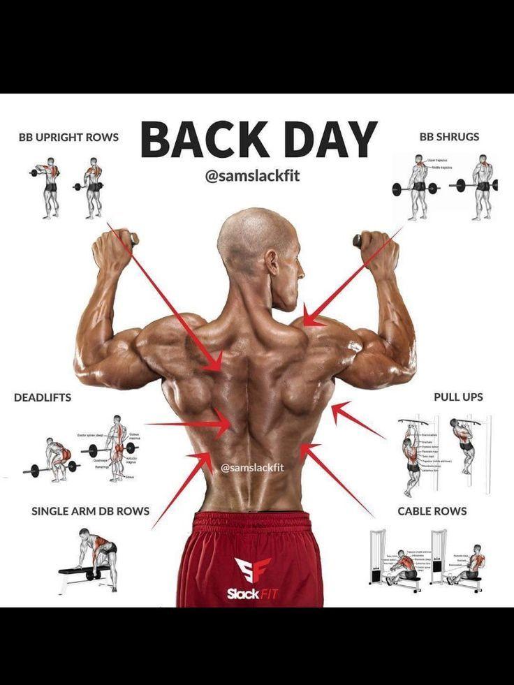 Back exercises #virileman5