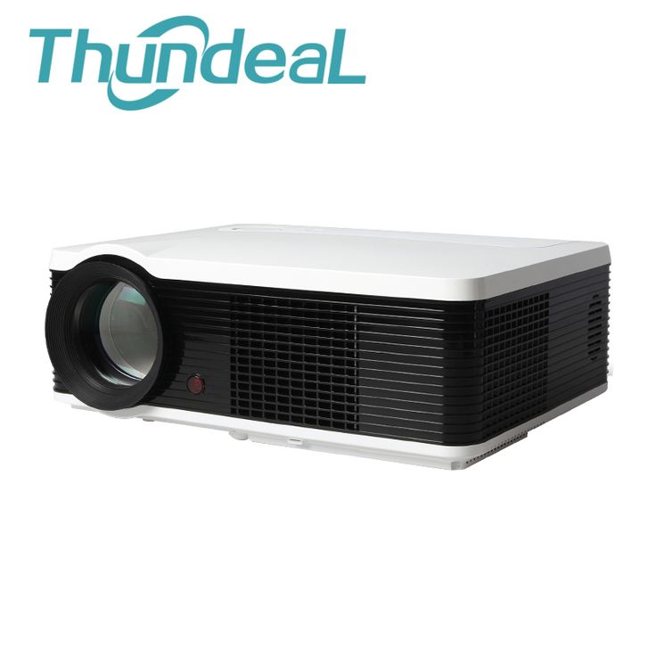 Trend Lumens LED Projector HD LCD Build in Speaker D Home Theater Projektor Proyector HDMI