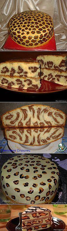 Леопардовый кекс - вот так идейка...