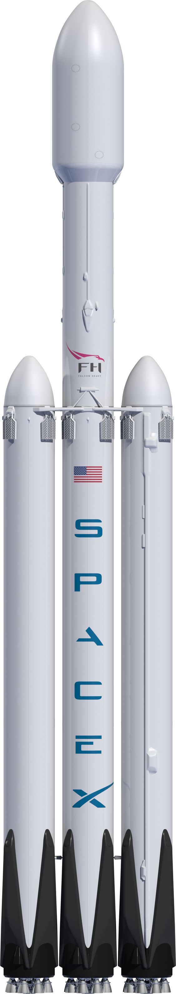 SpaceX: The World'sMost Powerful Rocket--27 engines!!!