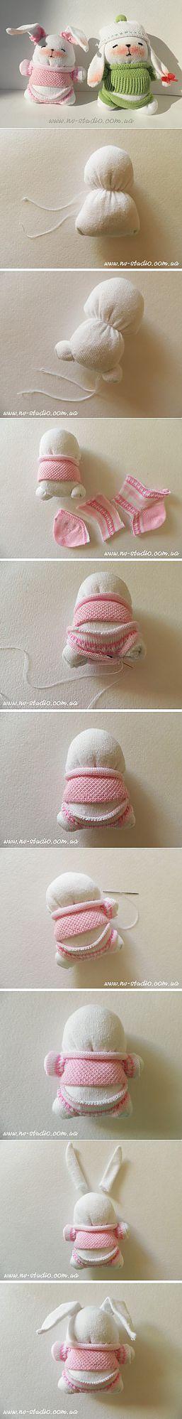 (+1) - Смешные игрушки из носков | СВОИМИ РУКАМИ | Игрушки | Постила