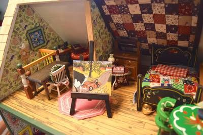 Brookfield man's scale model dollhouse of Maud Lewis home being auctioned off | Truro Daily News