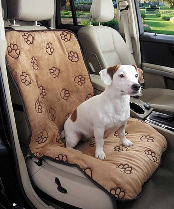 Look At This Camel Paw Print Single Car Seat Cover On Zulily Today