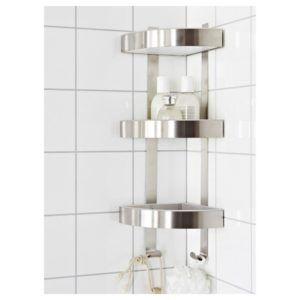 Bathroom Wall Corner Shelf Unit