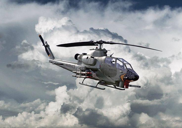 AH-1 Marine Cobra Gunship | Helicopters | Pinterest ...