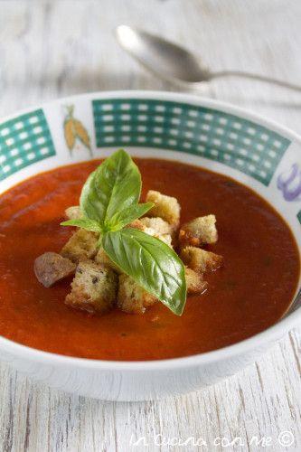La zuppa di pomodoro - In Cucina con Me
