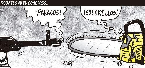 Debates en el congreso... #Caricatura Safady