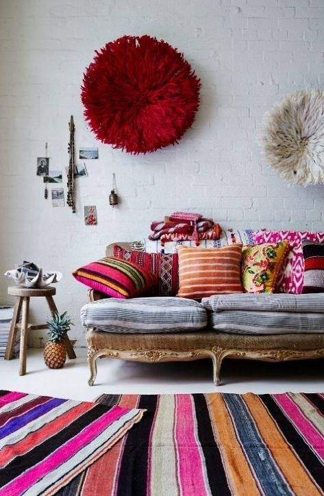 Bohemian Chic Decor for your Rising Barn