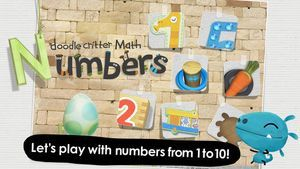 Doodle Critter Math: Numbers is a brand new app from developer NCSOFT, and it is a great one. Children practice a variety of early math skills in six great games that move from number recognition to beginning addition and subtraction. Preschoolers will definitely benefit from this Top Pick early math app.