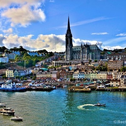 Cobh, County Cork, Ireland. Loved Cobh! Ate ice cream in the freezing cold!
