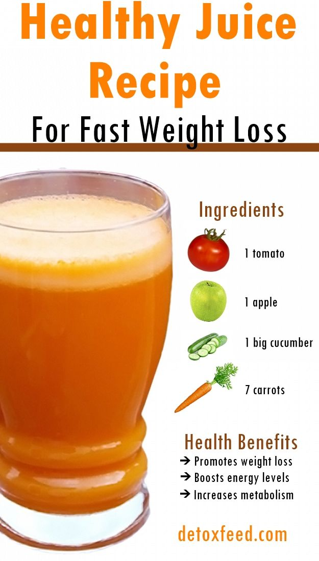 Healthy Juice Recipe For Fast Weight Loss | Detox Feed