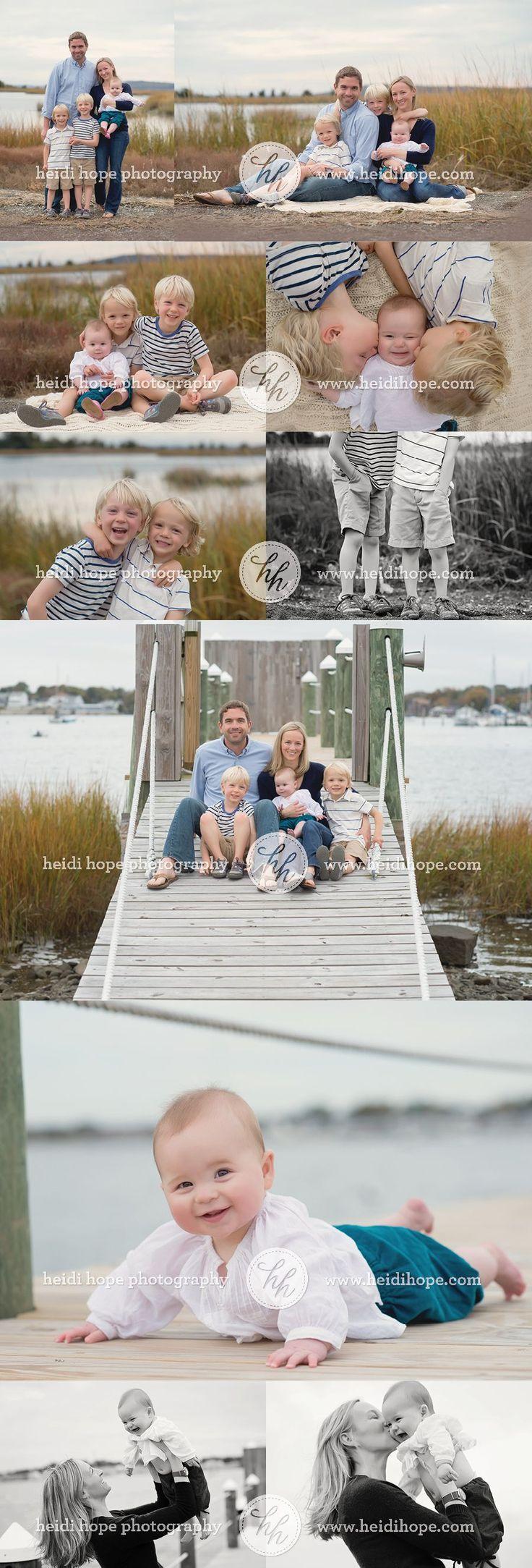 Beach Family Session | Heidi Hope Photography