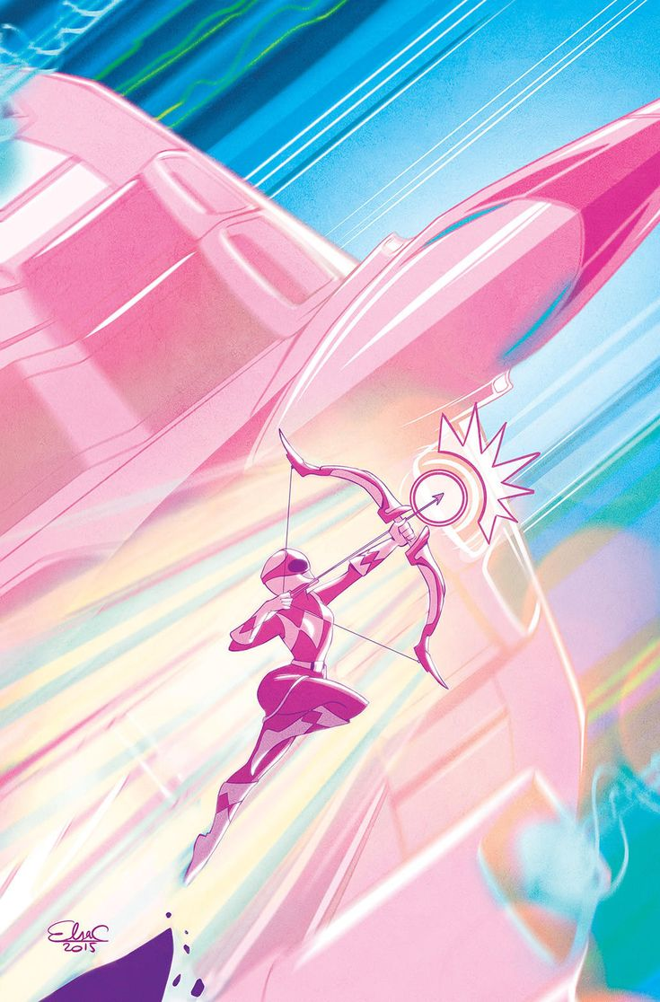 """""""Mighy Morphin Power Rangers: Pink"""" is a new comic book miniseries on the way from Boom! Studios and Saban Brands."""