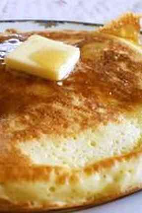 簡単!むちむち もちもち パンケーキの画像