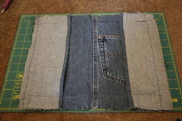 denim bible cover tute