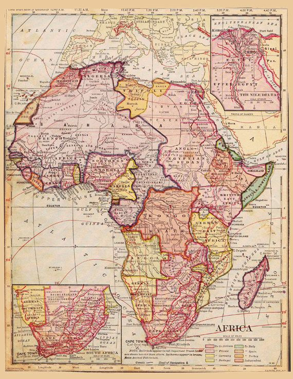 cartography of africa history of maps Münster was the first mapmaker to print separate maps of the four then known continents (europe, africa, asia, america) the map of africa contains many interesting—if not curious— features: a one-eyed giant seated over nigeria and cameroon, representing the mythical tribe of the monoculi a dense forest located in today's sahara.