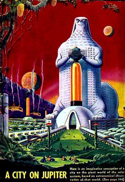 A city on Jupiter by Frank R. Paul