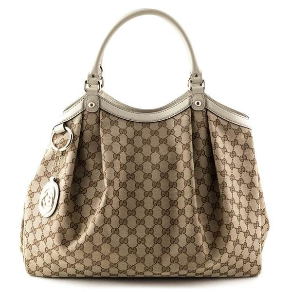 09cf6d36004b Gucci GG Canvas Large Sukey Tote - LOVE that BAG - Preowned Authentic  Designer Handbags