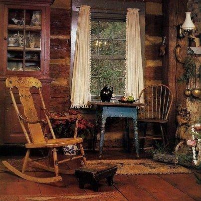 Cozy Cabin Interior Country Home Decor Pinterest