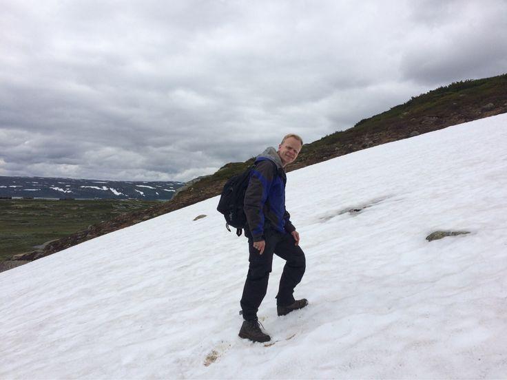 #Norway #Ustaoset #Summer #Snow