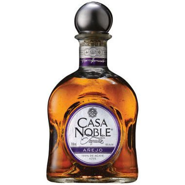 Casa Noble Anejo Tequila 750ml is aged for a full two years in French White Oak barrels, the complex aromas of dried fruits and spice compliment flavors of toasted oak, butterscotch, vanilla and sweet cooked agave. 081240050499
