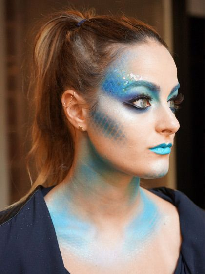 Fish/Mermaid makeup - Halloween