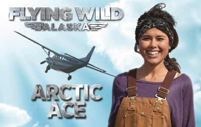 Flying Wild AlaskaAce Games, Discovery Channel, Channel Divas, Ariel Tweto, Favorite Character, Arctic Ace, Eye Candies, Beautiful People, Fly Wild