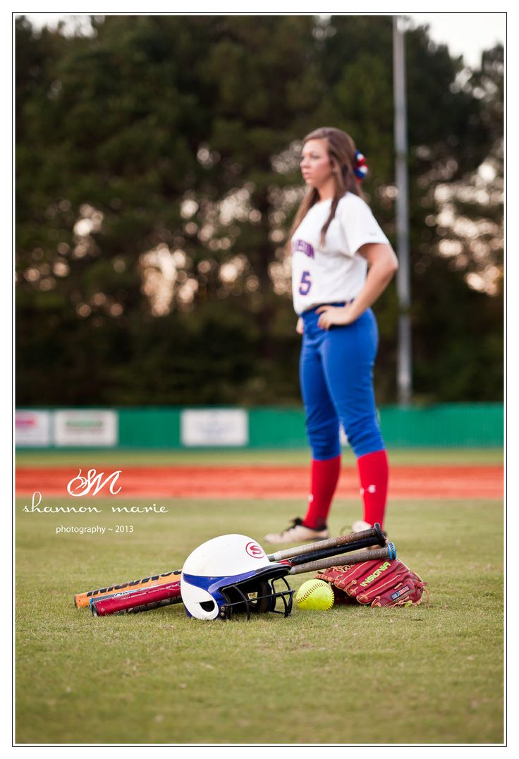 Ideas for Softball pics for Hannah